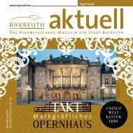 Bayreuth Aktuell April 2018