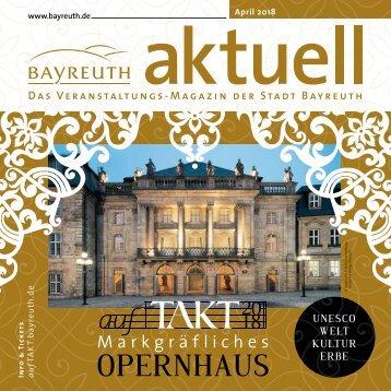 Bayreuth Aktuell April 2018