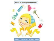 Move Out Cleaning Port Melbourne