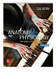 Download PDF Anatomy  Physiology The Unity of Form and Function Full Ebook