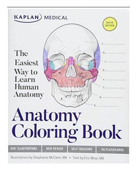 Download PDF Anatomy Coloring Book Kaplan Medical Full Online