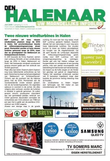 1822 Den Halenaar 1 juni 2018 - week 22