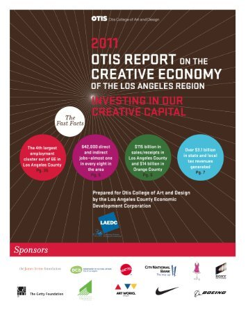 The Creative Economy in the Los Angeles Area - Otis College of Art ...