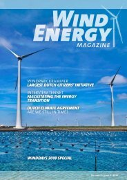 WINDENERGY MAGAZINE 02 2018