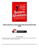 Download PDF Business Adventures Twelve Classic Tales from the World of Wall Street Full Ebook - Page 3