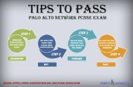 Tips To Pass Palo Alto Certification Exam In First Attempt - PCNSE Exam Braindumps