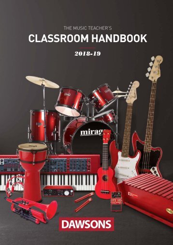 Dawsons Music Classroom Handbook 2018-2019