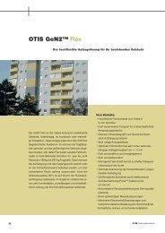 OTIS GeN2™ Flex