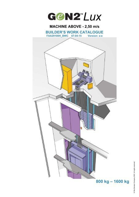 builder's work catalogue - Otis Elevator Company on