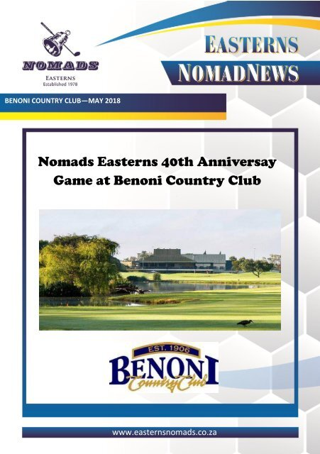 Nomads Magazine - Benoni CC - May 2018