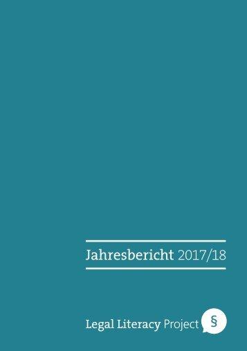 Jahresbericht LLP 2017/18