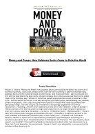 Power how pdf money and goldman sachs