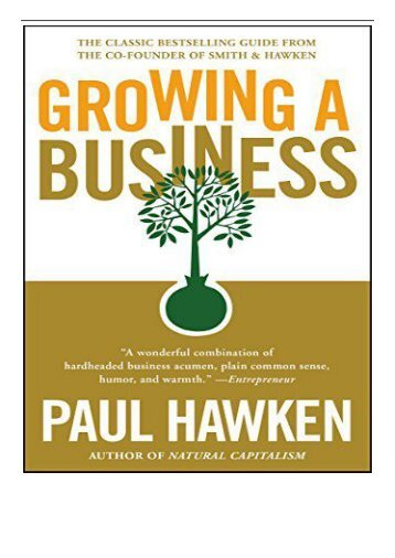 PDF Download Growing a Business Full Page
