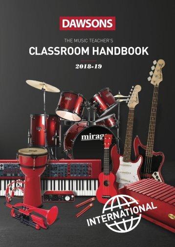 Dawsons Music International Classroom Handbook 2018-2019