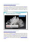 Fine Quality Talc Powder Supplier in India Earth MineChem - Page 2