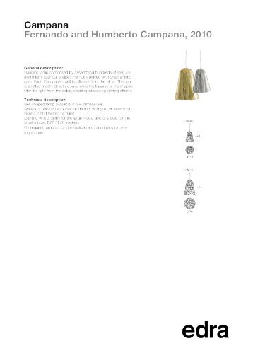EDRA_Data-Sheet_Campana-suspension_2017_EN