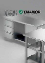 Edelstahlverbauten Neutrale Elemente