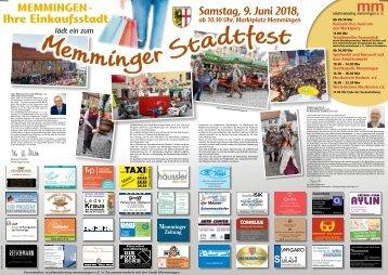 Stadtfest Memmingen