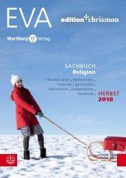 Vorschau Sachbuch EVA, edition chrismon, Wartburg Verlag Herbst 2018