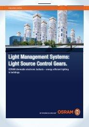 LMS: Light source control gears - Osram