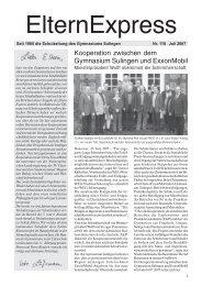 Gebirge - Gymnasium Sulingen
