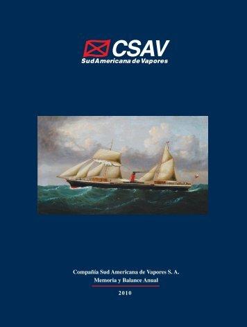 Memoria y Balance Anual 2010 - CSAV