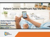 Patient Centric Healthcare App Market Size and Share by 2023