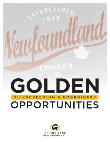 Newfoundland Tourism Catalogue Spring 2018