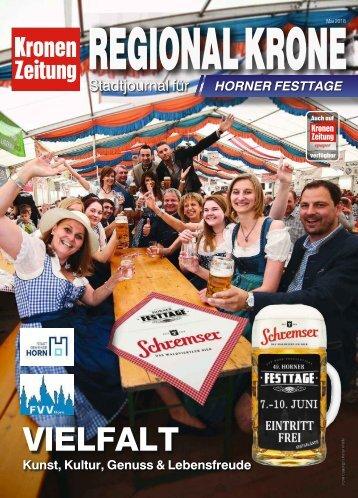 Regionalkrone Horner Festtage  2018-06-01