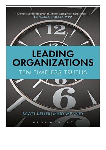 [PDF] Leading Organizations Full Books