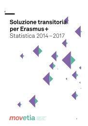Soluzione transitoria per Erasmus+ Statistica 2014–2017