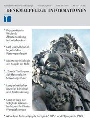 Denkmalpflege Informationen Nr. 152 - Bayerisches Landesamt für ...