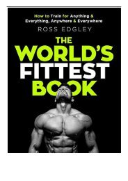 Download PDF The World's Fittest Book The Sunday Times Bestseller Full pages