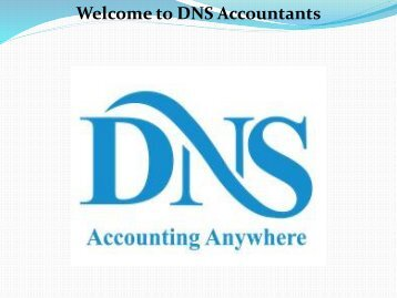 Accurate Bookkeeping Services for Small Business  DNS Accountants