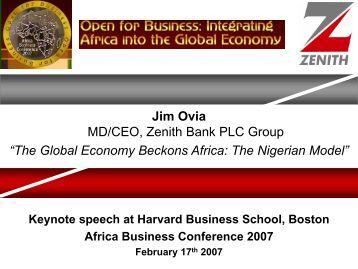 Analysis of zenith bank plc