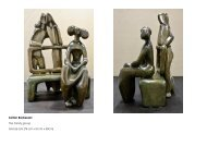 Sculpture available by Private treaty