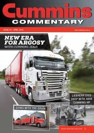Cummins Commentary Issue 44 - April 2015