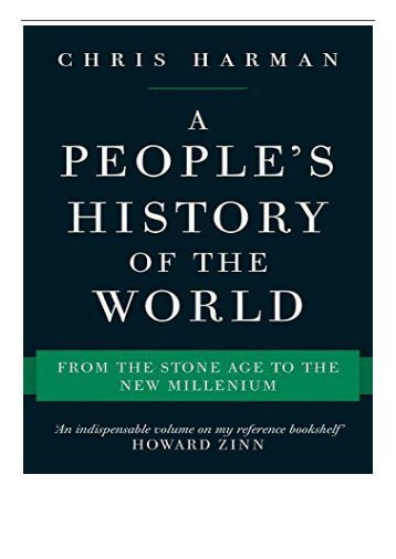 [PDF] Download A People's History of the World From the Stone Age to the New Millennium Full ePub