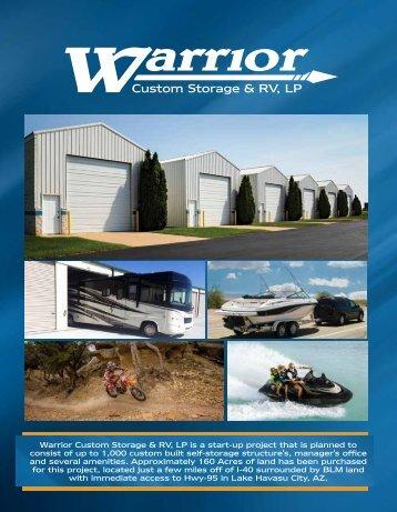 Warrior Custom Storage Book Online