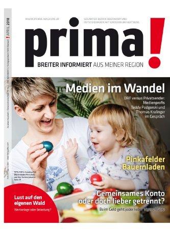 prima! Magazin – Ausgabe April 2018