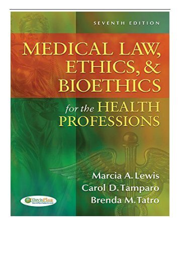 medical law and ethics case studies