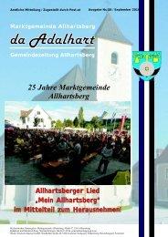 25 Jahre Marktgemeinde Allhartsberg