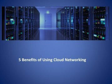 Cloud Networking Bay Area