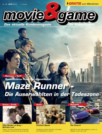 Movie & Game Juni 2018