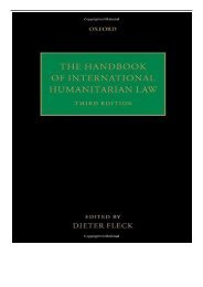 [PDF] Download The Handbook of International Humanitarian Law Full Ebook