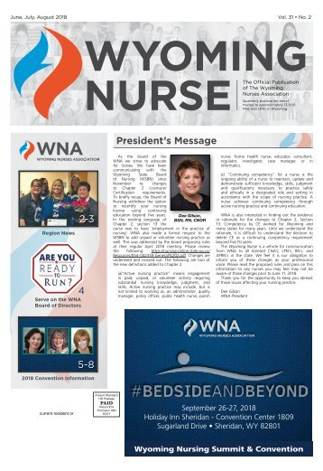 Wyoming Nurse - June 2018