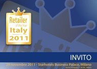 Italy - Retailer of the Year