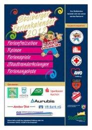 Ferienkalender 2012