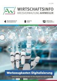 AW-Wirtschaftsinfo Juni 2018 - Werkzeugkasten Digitalisierung
