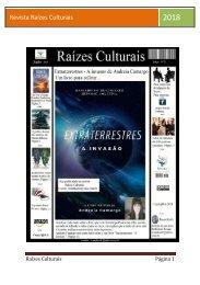 Revista Raizes Culturais junho 2018